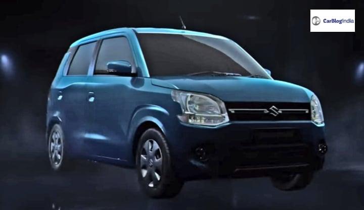 2019 maruti wagon r front side image
