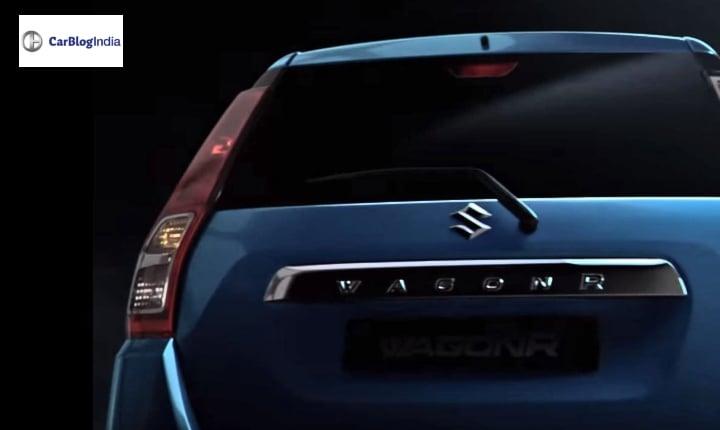 2019 maruti wagon r rear image