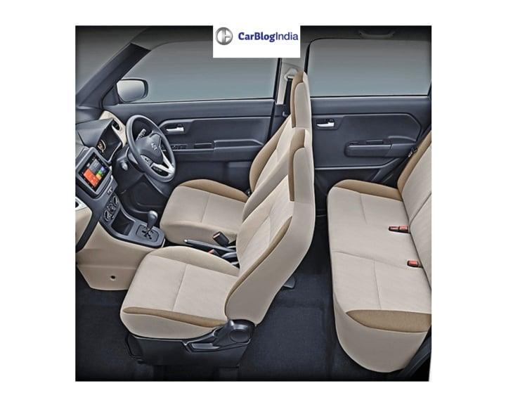2019 maruti wagon r seat image