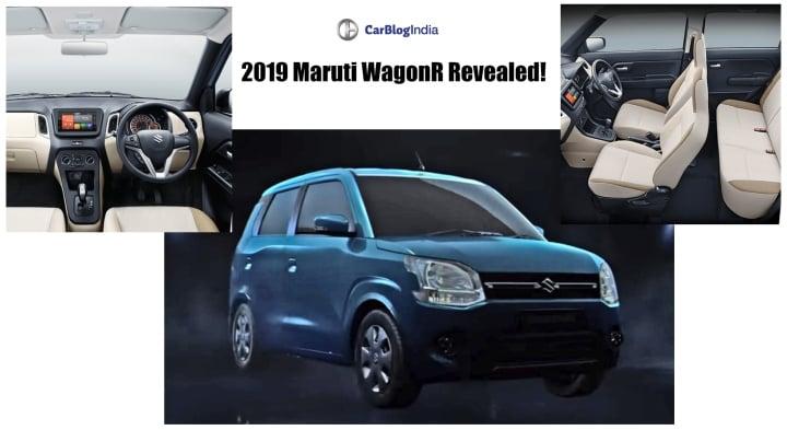 2019 maruti wagont revealed! image