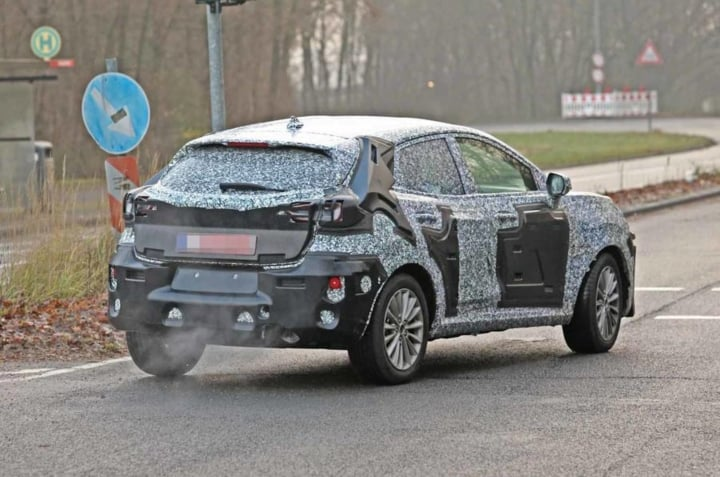 2020 ford ecosport rear image