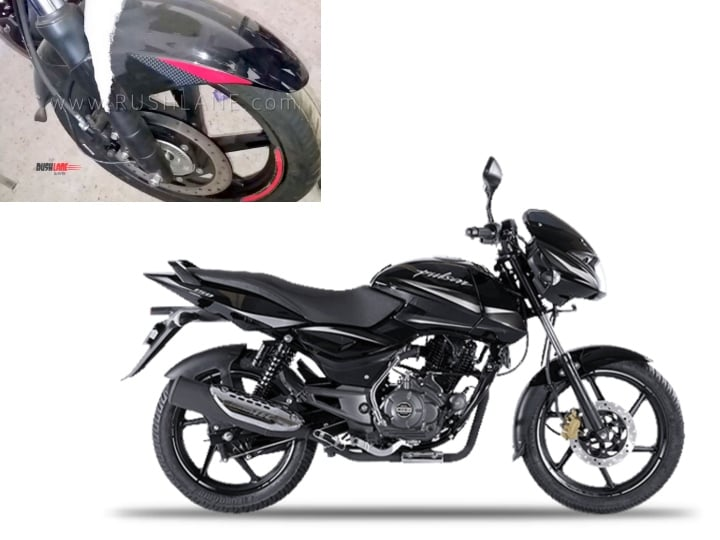 Bajaj Pulsar 150 Twin Disc ABS spied at a dealership; price hike of Rs 6000 expected
