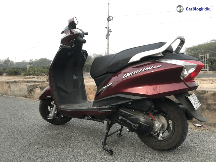 Hero Destini 125 is currently the best selling Hero scooter