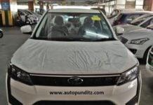 Mahindra XUV 300 spy front image