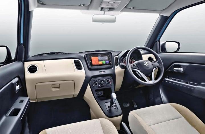 Maruti wagon r interior image
