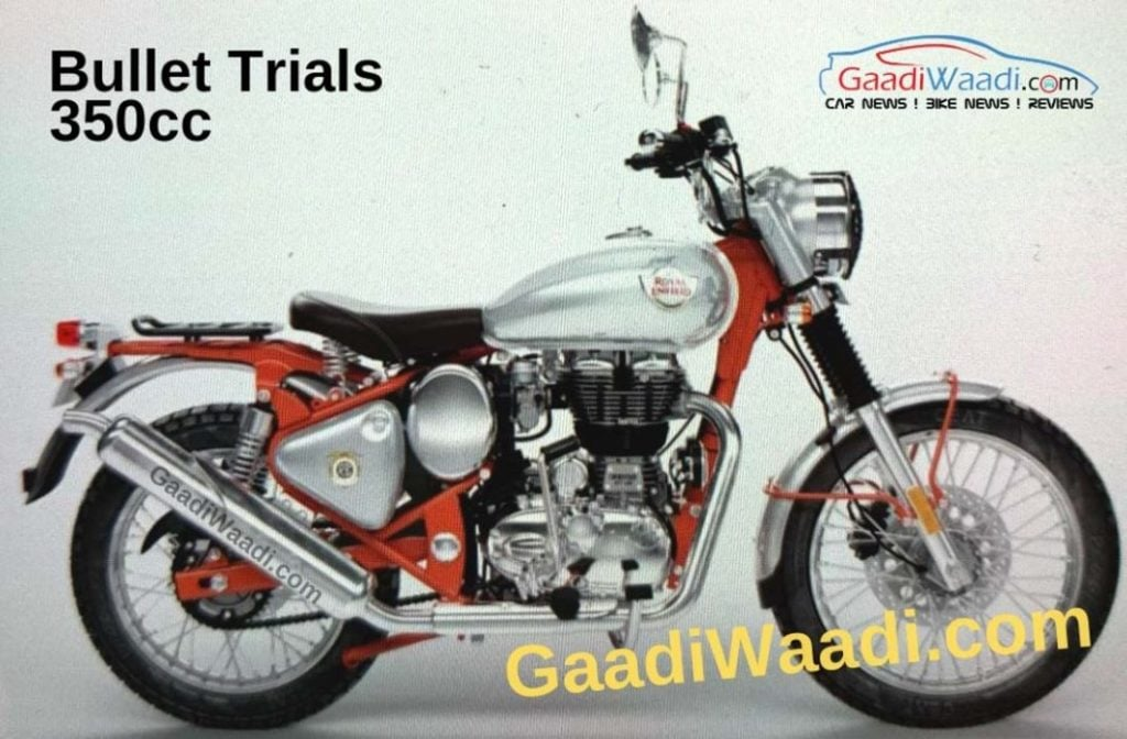 Royal Enfield Bullet 350 Trials