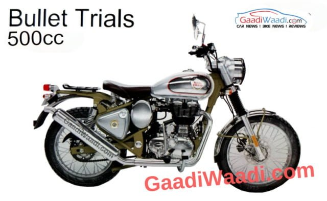 Royal Enfield Bullet 500 Trials
