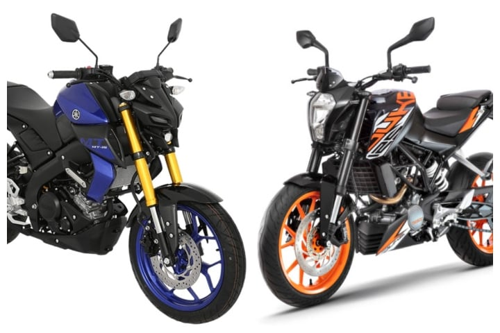 Yamaha MT-15 Vs KTM Duke 125 – Specification Comparison