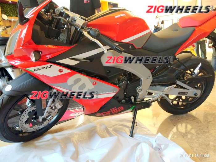 Aprilia RS 150 first spy pics out; possible launch in 2019