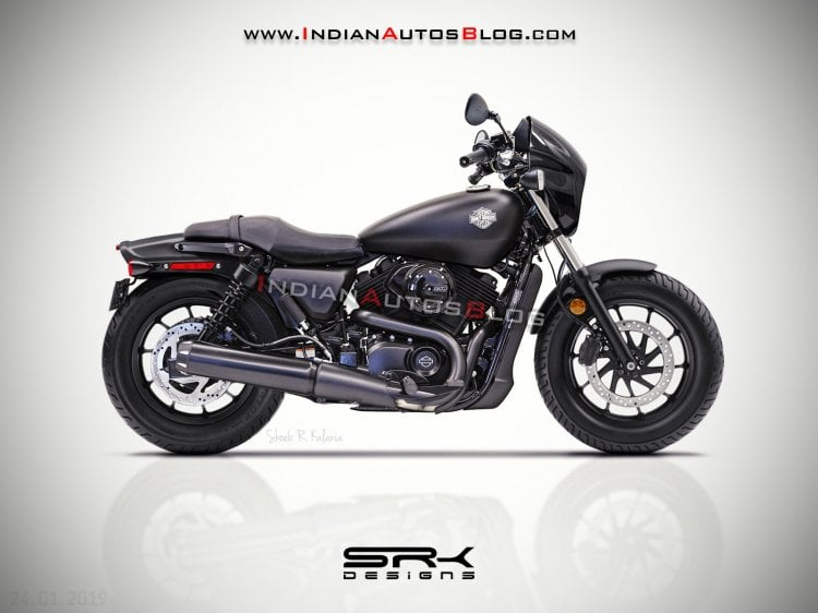 Check Out This Rendering Of Harley Davidson Street 250