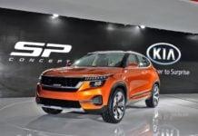 kia sp concept SUV front image