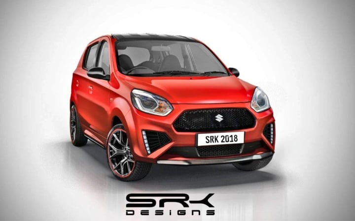 Maruti Alto 800 RS is a rendering we want in production guise!