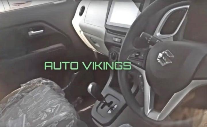 maruti wagon r 2019 interiors image