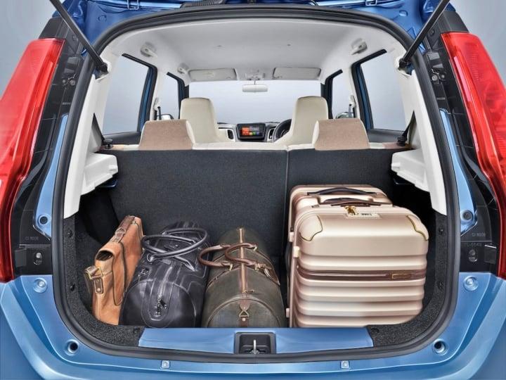 maruti wagon r boot image
