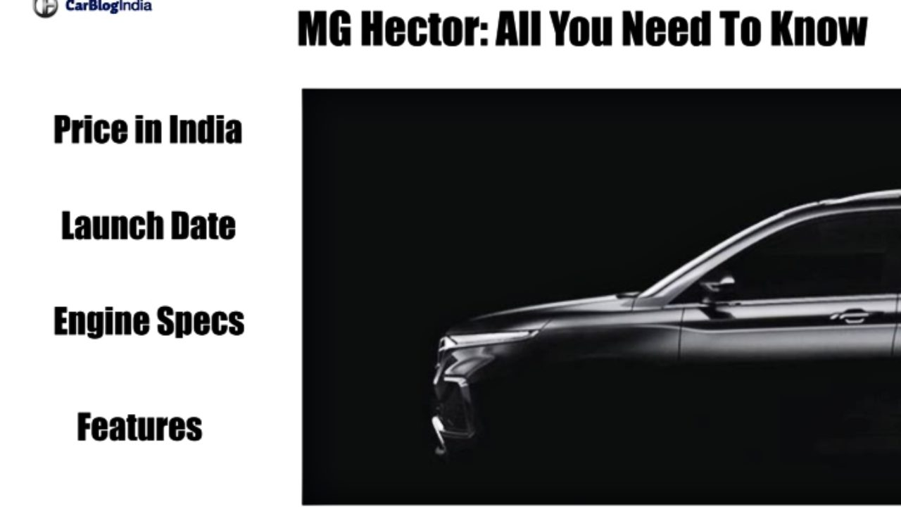 Mg Hector Price In India Launch Date Interiors Specifications