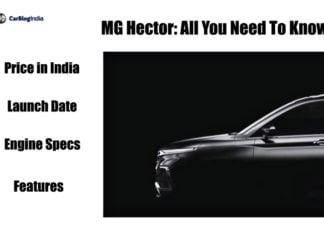 mg Hector main image