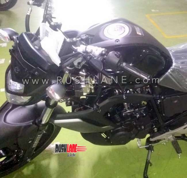 Yamaha FZ V3 black colour variant spotted; possible launch in January