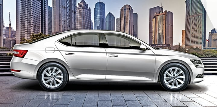 skoda superb corporate edition image