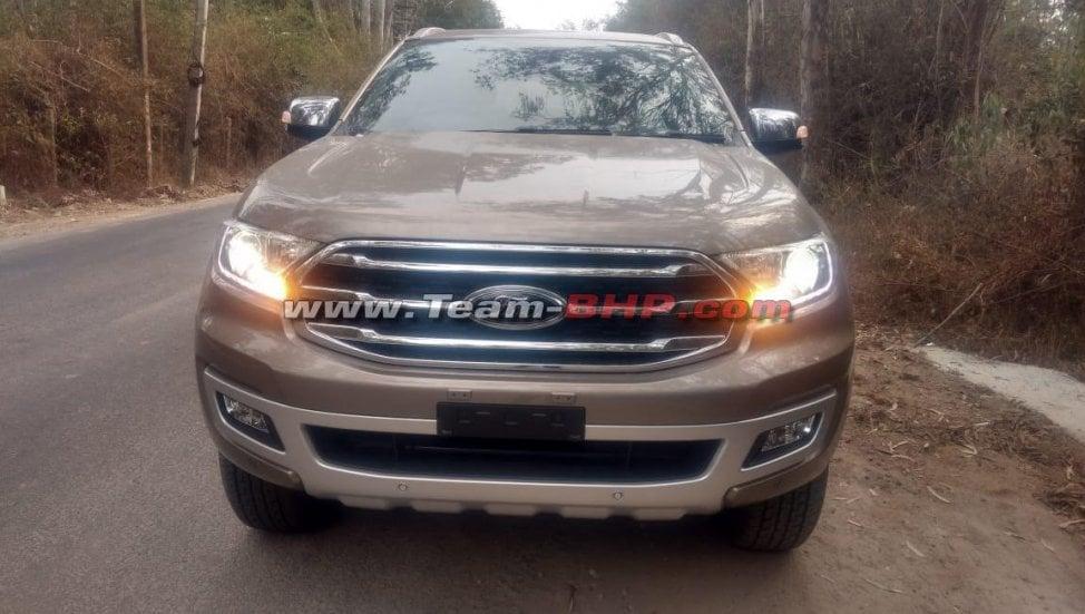 2019 ford endeavour facelift front image