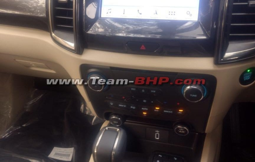 2019 ford endeavour facelift interiors image