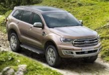 2019 ford endeavour front image