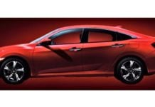 2019 honda civic side image