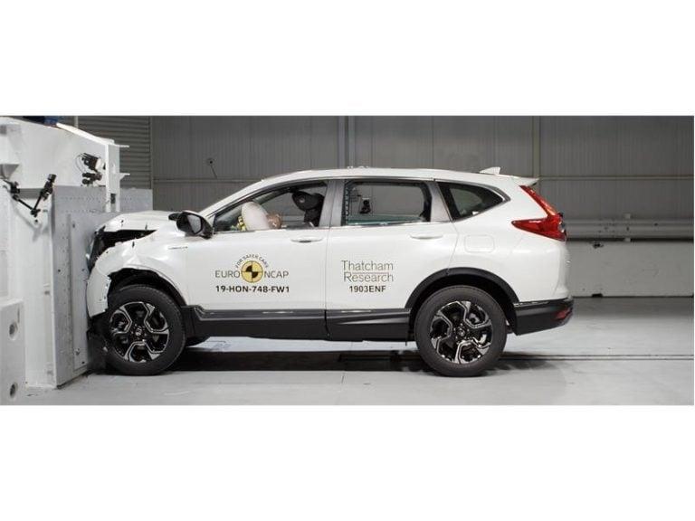 Honda CR-V achieves 5-Star crash test rating from EURO NCAP