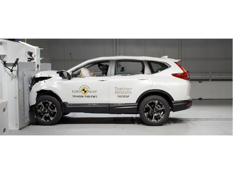 2019 honda cr-v crash test