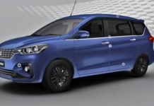 2019 maruti ertiga customized image