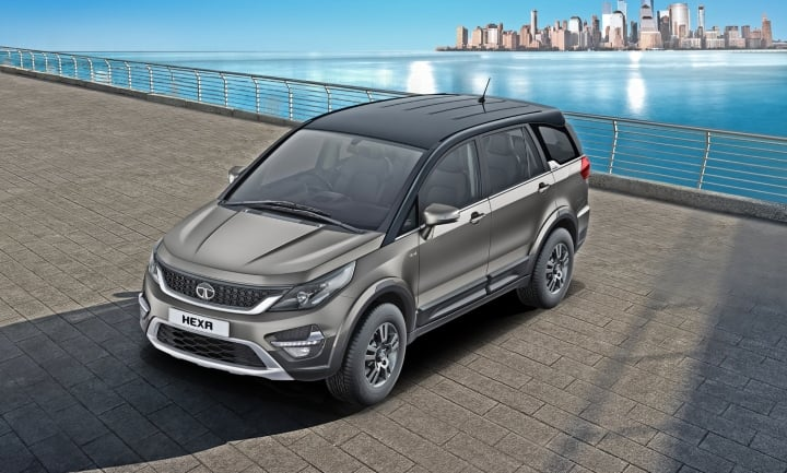 2019 Tata Hexa gets a new infotainment system, alloy wheels and dual-tone colours