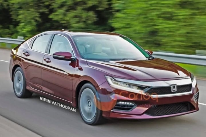 2020 honda city rendering image