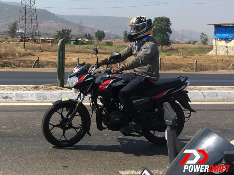 Bajaj Discover 110 CBS spotted; launch expected in February