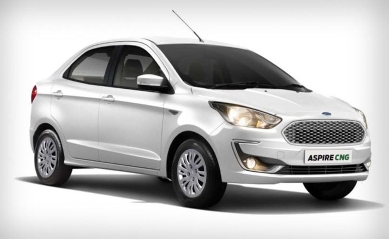 Ford Aspire CNG variant launched; priced at Rs 6.27 Lakhs
