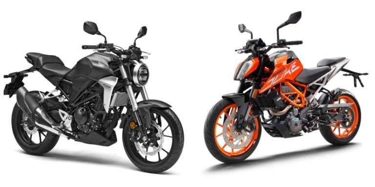 Honda CB300R Vs KTM Duke 390 – Specification Comparison
