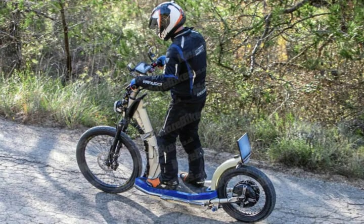 KTM electric scooter spotted testing; India launch on the cards?