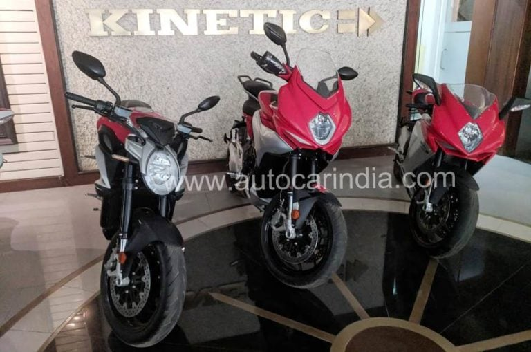 MV Augusta Turismo Veloce ADV spied in India; might launch by June