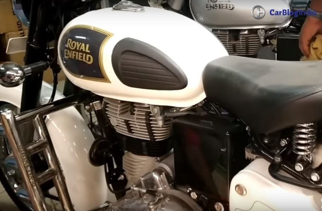 Royal Enfield Bullet White