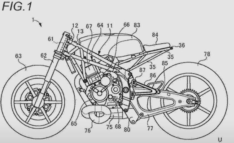 Suzuki cafe racer reportedly under development; sketches leaked