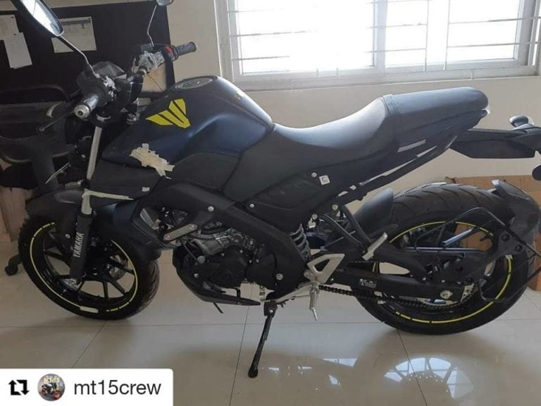 Yamaha MT-15 clear spy shots out; launch confirmed for 15th March