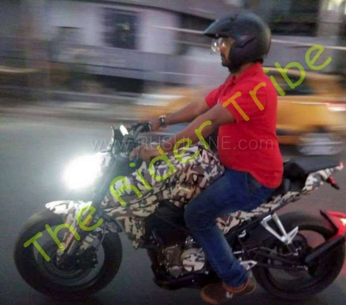 New CF Moto 250 NK Streetfighter spotted in India for the