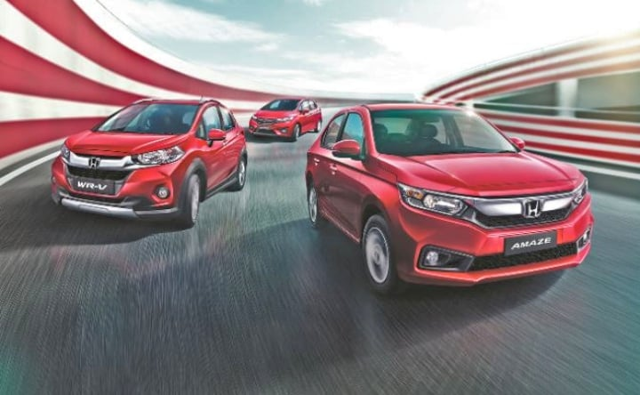 Honda Amaze, WR-V and Jazz Exclusive Editions launched in India!