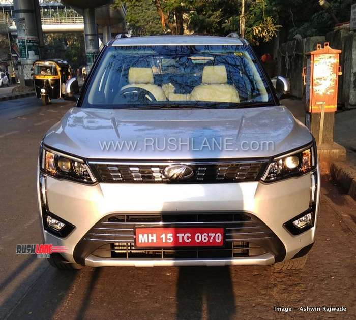 Mahindra XUV 300 AMT spotted on Indian roads; launch soon!
