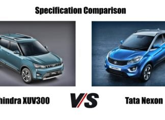 mahindra xuv 300 vs tata Nexon image