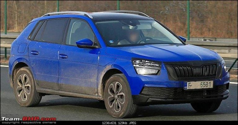 Hyundai Creta rival Skoda Kamiq images leaked ahead of the official debut!