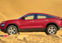 tata harrier coupe image