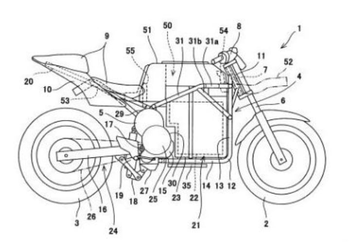 Kawasaki developing a new electric bike; design sketches leaked