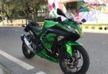 Kawasaki Ninja 300 recalled