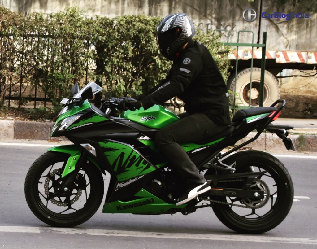 Kawasaki Ninja on Car Engine Parts