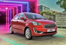 2019 FORD FIGO FACELIFT IMAGE