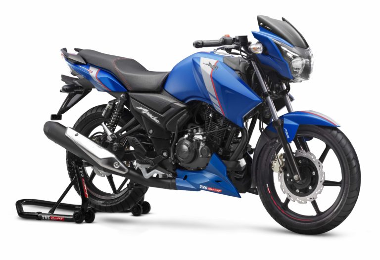 TVS Apache RTR series officially updated with ABS – New Price List